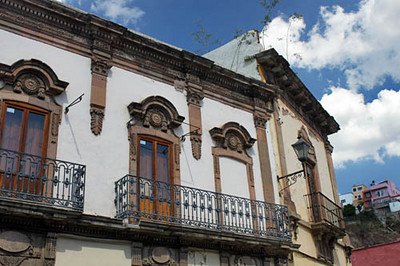 Colonial architecture is everywhere