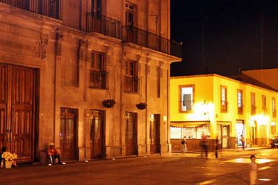 Municipal Palace at night
