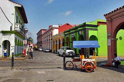 A street near the Zocalo, Plaza Zaragoza