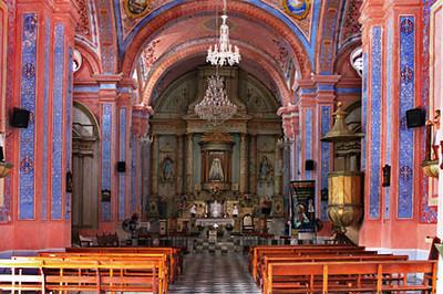 Interior of Church of the Virgin of Candelmas