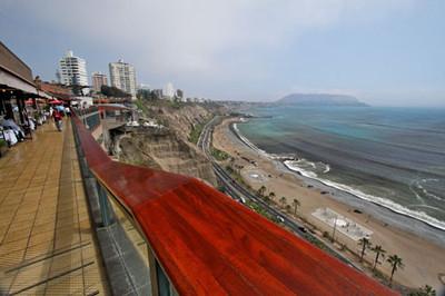 Lima, Peru - shining city by the sea