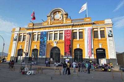 Casa de Literatura in the historic center of Lima