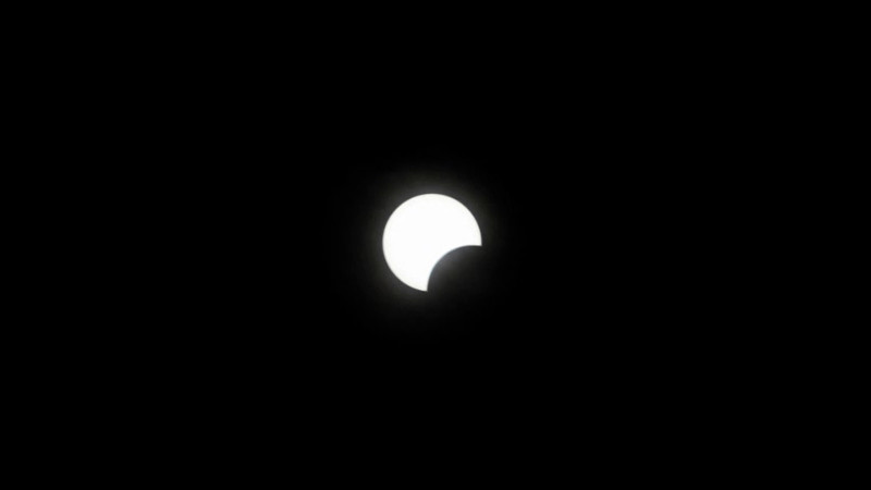 """<p>""""Ring of Fire"""" (annular eclipse) at May 20, 2012. Taken at Redding, California.</p>"""