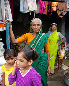 Slum, Pune, India