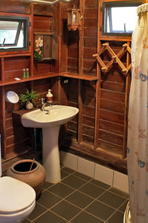 Bathroom at vacation rental home, Good Time Resort