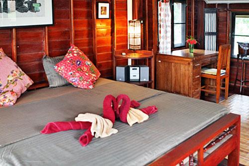 Bedroom at vacation rental home, Good Time Resort