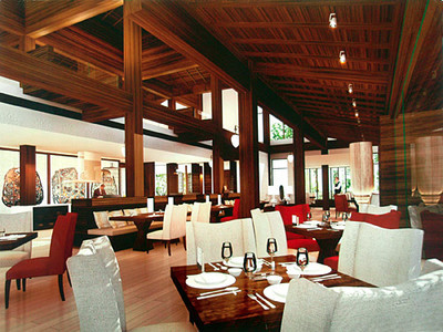Phulay Bay Resort international restaurant