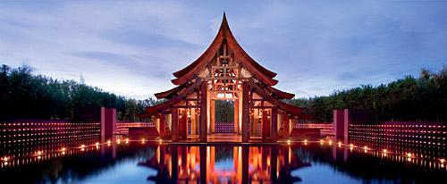 Phulay Bay Resort arrival pavilion