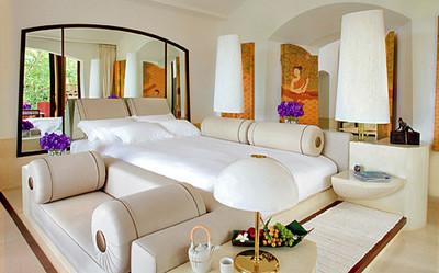 Phulay Bay Resort pavilion bedroom