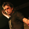 Londonderry:<br /> Cy Curnin, lead singer of The Fixx, during the band's performance Tupelo Music Hall on Sunday evening.<br /> Photo by Allegra Boverman/Eagle-Tribune Monday, July 18, 2005
