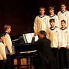 Derry: The Vienna Boys Choir performed at Pinkerton Academy's Stockbridge Theatre on Thursday evening. Choirmaster Martin Schebesta conducted. Tupelo Music Hall sponsored the event. Photo by Allegra Boverman/Eagle-Tribune Thursday, December 15, 2005