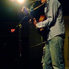 Londonderry: <br /> Folk singer Chris Pureka playing at the Tupelo in Londonderry Sunday night January 30th. <br /> Photo by Jarrod Thompson/Derry News. Tuesday, February 1, 2005