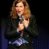Londonderry: Comedian Paula Poundstone has the crowd at Tupelo Music Hall in an uproar during her dialog with a member of the audience as she alternates between merciless jibes and sudden moments of coy alure, during a truly funny and sold-out performance Saturday evening. Photo by Jan Seeger/Derry News Saturday, November 03, 2007