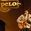 "Londonderry: David Friedenberg, of Manchester plays an original songs called ""The Guy Who Lost His Child"" during an open mic night at the Tupelo Music Hall in Londonderry Thursday evening.<br /> Photo by Jarrod Thompson/Eagle-Tribune Thursday, March 29, 2007"