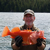 Yellow Eye Snapper - Taken near Yes Bay Lodge in SE Alaska. Photo taken with an Olympus 790 Digital Camera.