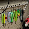 Tools of My Trade - Salmon fishing lures in my boat at Yes Bay Lodge, SE Alaska. Photo taken with an Olympus E-500 DSLR with a 70-300 Zoom Lens.