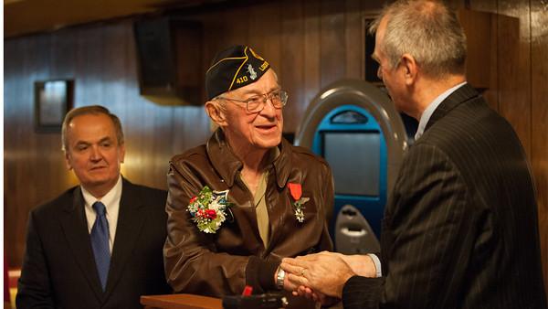 Local Veteran Honored