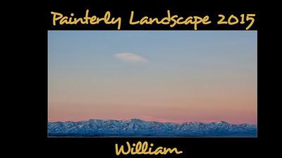 Painterly Landscape 2015