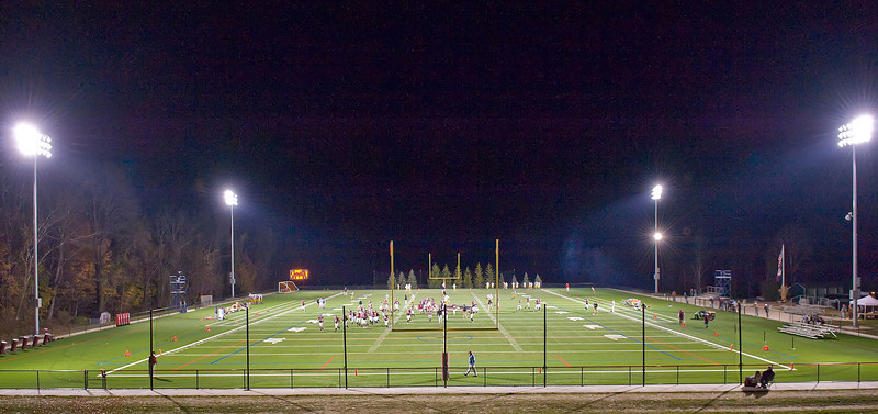 Wachtmeister Field at night