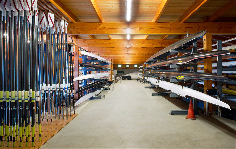 A bay in the Boathouse