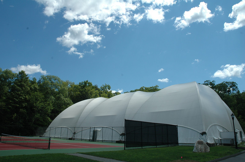 The Centennial Tennis Courts and the Class of 2002 Dome
