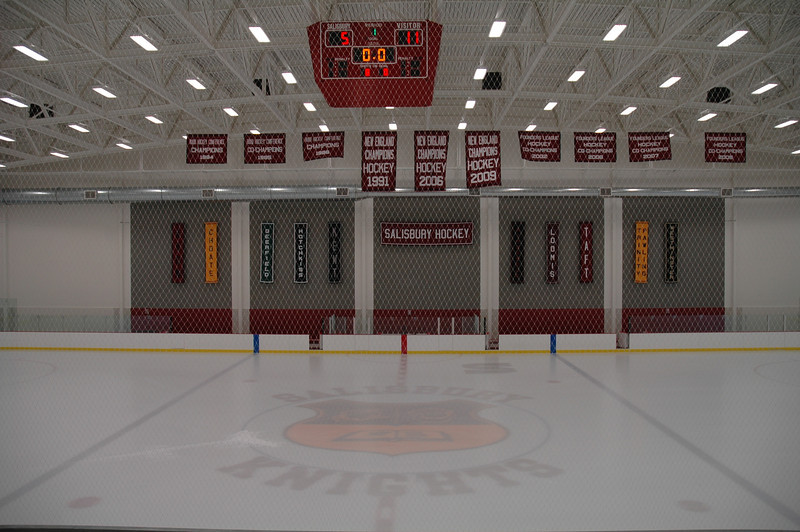 Rudd Rink in the Class of 1959 Hockey Arena