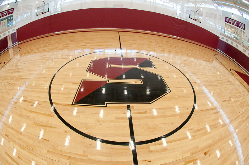 Center Court in the Flood Athletic Center