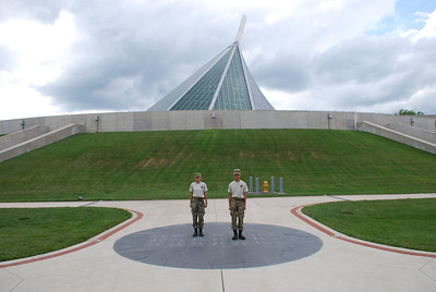 Cadets touring the National Museum of the Marine Corps located in Quantico, VA.