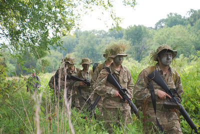 2011 Cadets conducting a patrol during a 2-day Field Training Exercise.