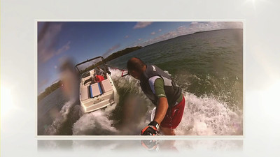 Wakesurfing on Lake Mendota: Shot Exclusively on a GoPro HD Hero Camera  © Copyright m2 Photography - Michael J. Mikkelson 2012. All Rights Reserved. Images can not be used without permission.