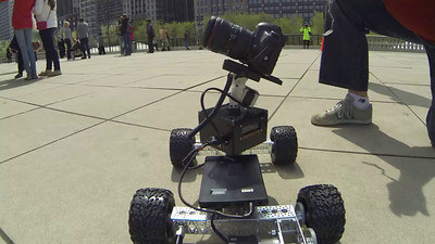 Cloud Gate Time Lapse eMotimo Rover© Copyright m2 Photography - Michael J. Mikkelson 2014. All Rights Reserved. Images can not be used without permission.