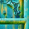 Macro photograph, rusted, industrial pipes, Sloss Furnaces, Birmingham, Alabama