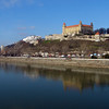 Danube river and castle