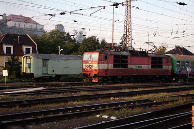 263 007 at Bratislava Hlavna Stanica on 6th August 2008 (1)