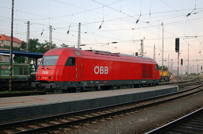OBB, 2016 009 at Bratislava Hlavna Stanica on 6th August 2008 (1)