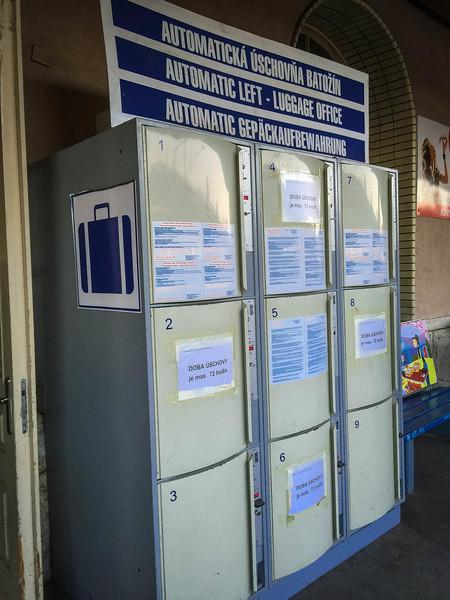 bratislava luggage lockers