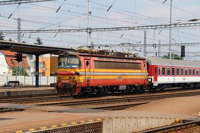 240 080 (91 56 6240 080-2 SK-ZSSK) at Bratislava Hlavna Stanica on 2nd July 2015