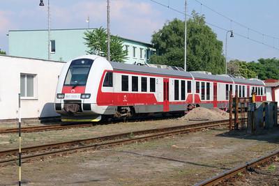 861 009 (95 56 7861 009-3 SK-ZSSK) at Nove Zamky on 2nd July 2015
