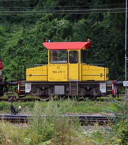 199 415 (97 56 8199 415-1 SK-ZSSK) outside Bratislava Hlavna Stanica on 2nd July 2015