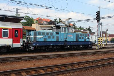 210 064 (97 56 8210 064-2 SK-ZSSK) at Bratislava Hlavna Stanica on 2nd July 2015