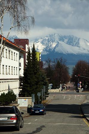 Random street in Poprad