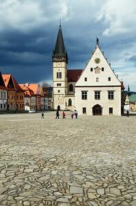 Bardejov city hall