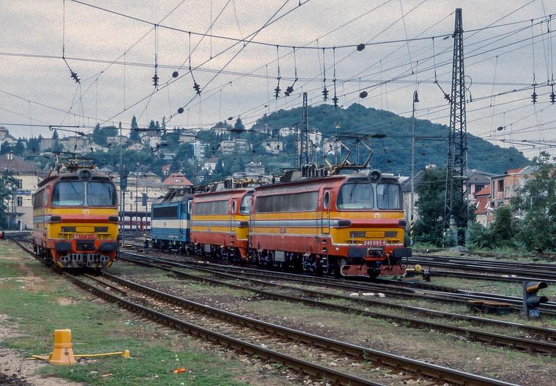 ZSSK 240-095 Bratislava Hlavni Stanica 21 September 2005