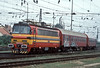 ZSSK 240-072 coasts through the crossovers as it enters Bratislava HS on 21 September 2005