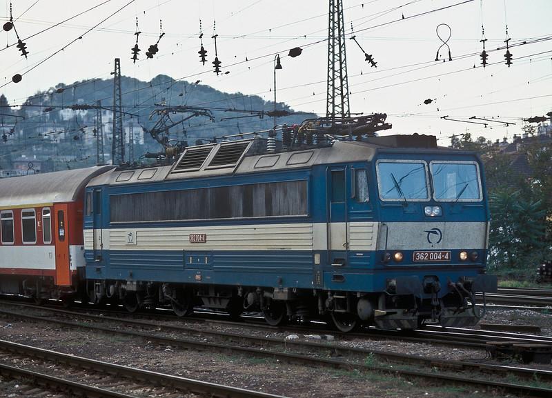 ZS 362.004 leaves Bratislava HS on 10 October 2007
