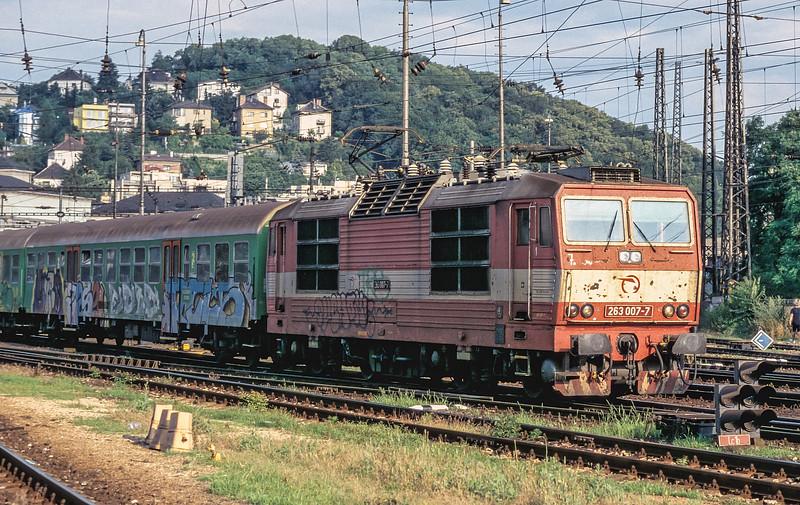 ZS 263-007 Bratislava Hlavni Stanica 2 July 2008