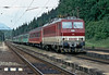 Pulling into the station at Vychodna on 27 June 2008 is ZS 162.003 with train Os7808 from Kosice to Zilina
