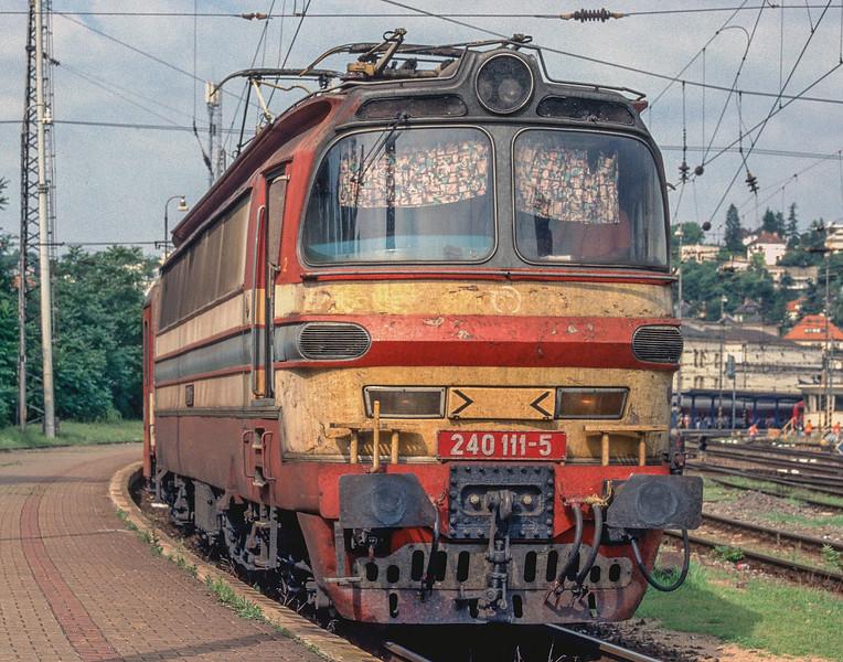 ZS 240-111 Bratislava Hlavni Stanica 2 July 2008