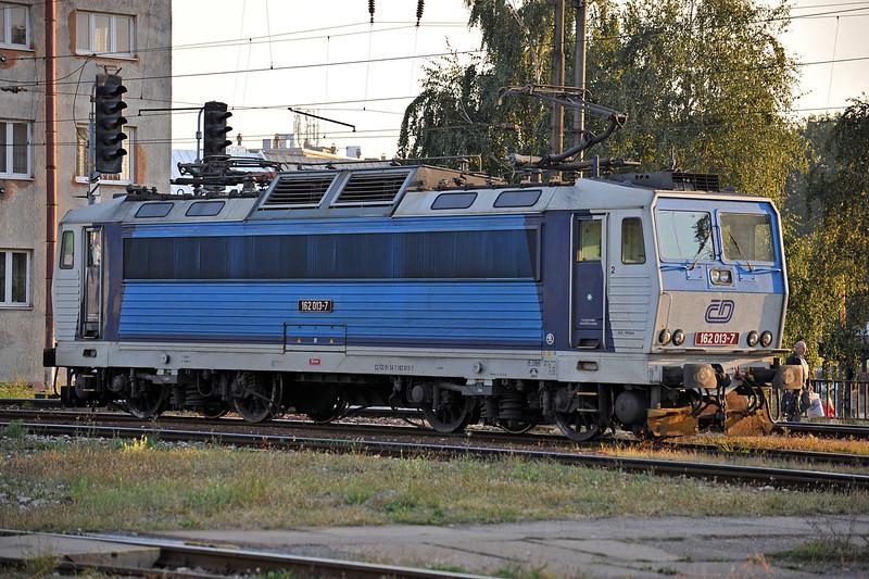 Visitor CD 162-013 runs through Kosice on 27 September 2011