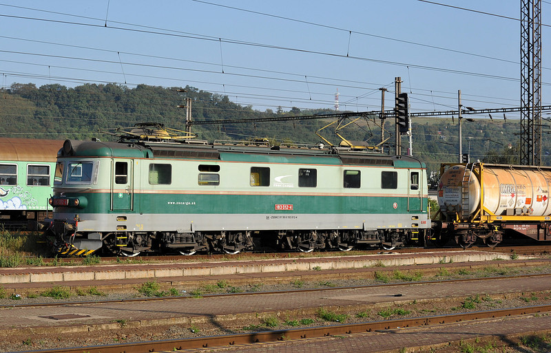 ZS Cargo 182-012 passes Kosice on 27 September 2011